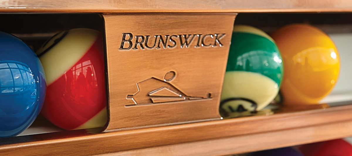 Brunswick White Gold Crown IV - Limited Edition Pool Table - KinneyBilliards.com