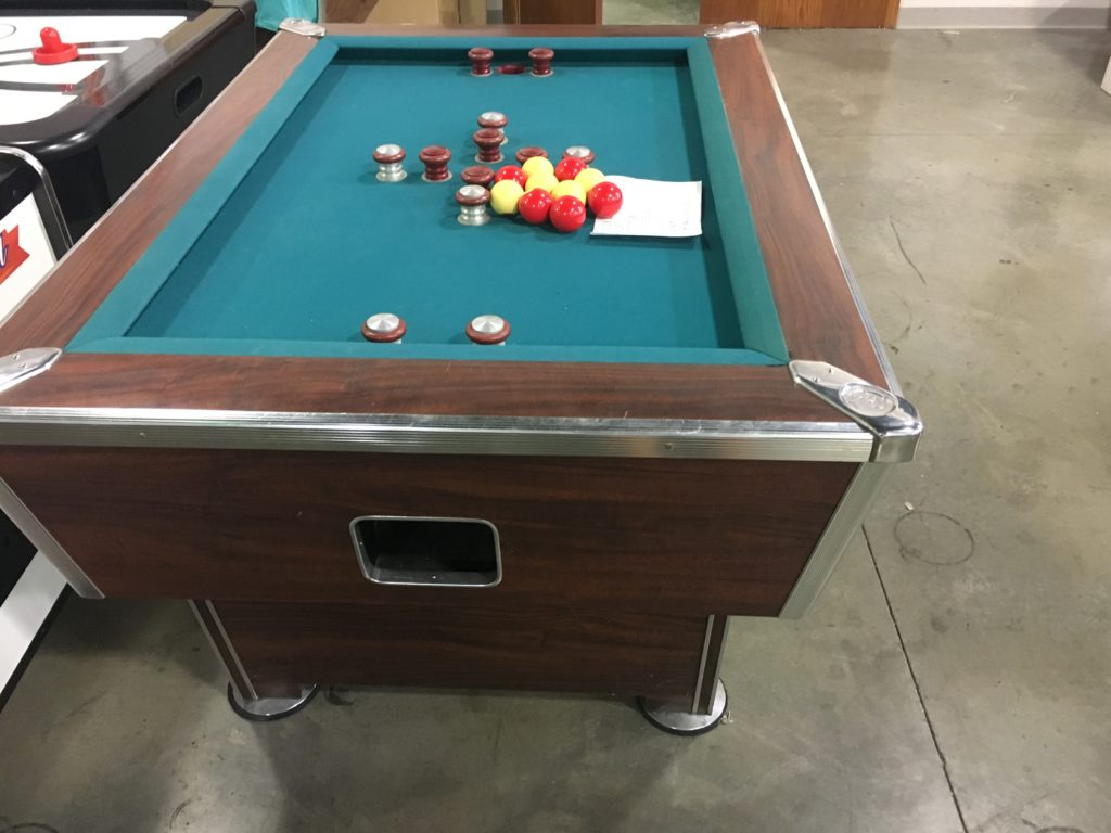 Used Valley Dynamo Tiger Cat Bumper Pool Table