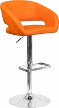 contemporary-orange-vinyl-adjustable-height-barstool-with-chrome-base-ch-122070-org-gg-5