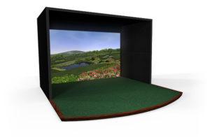Premium Residential TruGolf Golf Simulator