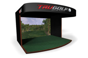 Premium Commercial TruGolf Golf Simulator