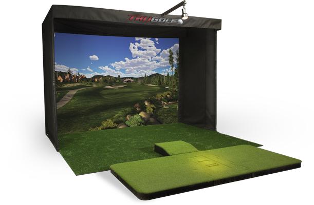 Vista 12 golf simulator for Golf simulator room dimensions